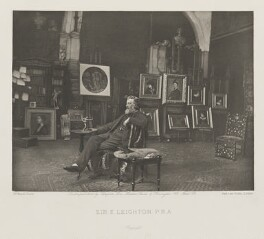 Frederic Leighton, Baron Leighton, by and published by Sampson Low, Marston, Searle and Rivington, after  Joseph Parkin Mayall - NPG Ax27814