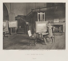 John MacWhirter (McWhirter), by and published by Sampson Low, Marston, Searle and Rivington, after  Frank Dudman, for  Joseph Parkin Mayall - NPG Ax27828