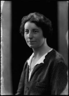 Florence Gertrude Horsbrugh, Baroness Horsbrugh, by Bassano Ltd - NPG x150757