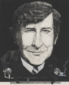 Dave Allen, by Barry Fantoni,  - NPG  - © National Portrait Gallery, London