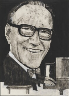 Arthur Askey, by Barry Fantoni - NPG 6773