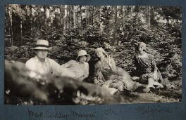 Picnic, possibly by Lady Ottoline Morrell - NPG Ax143172