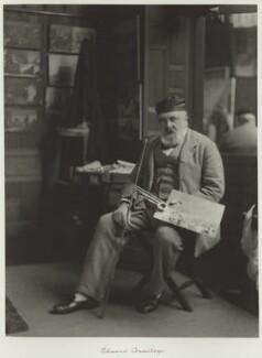 Edward Armitage, by Ralph Winwood Robinson, published by  C. Whittingham & Co, circa 1889, published 1892 - NPG x7348 - © National Portrait Gallery, London