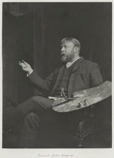Edward John Gregory, by Ralph Winwood Robinson, published by  C. Whittingham & Co, published 1892 - NPG x7368 - © National Portrait Gallery, London