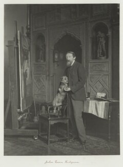 John Evan Hodgson, by Ralph Winwood Robinson, published by  C. Whittingham & Co, circa 1889, published 1892 - NPG x7369 - © National Portrait Gallery, London