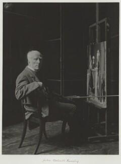 John Callcott Horsley, by Ralph Winwood Robinson, published by  C. Whittingham & Co, circa 1889, published 1892 - NPG x7371 - © National Portrait Gallery, London