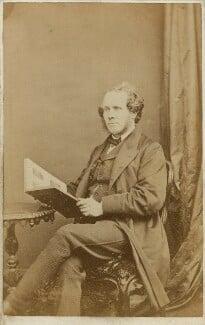 William Powell Frith, by Ferdinand Jean de la Ferté Joubert - NPG x25263