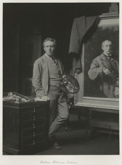 Walter William Ouless, by Ralph Winwood Robinson, published by  C. Whittingham & Co, published 1892 - NPG x7383 - © National Portrait Gallery, London