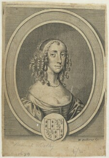Sarah Gilly, by William Faithorne, after  Sir Peter Lely - NPG D22743