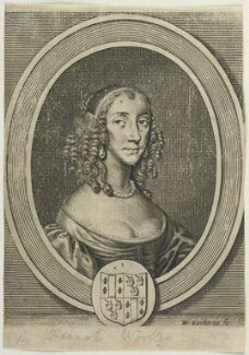 Sarah Gilly, by William Faithorne, after  Sir Peter Lely - NPG D22744