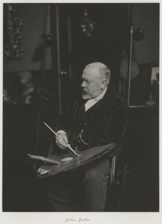 John Pettie, by Ralph Winwood Robinson, published by  C. Whittingham & Co - NPG x7385