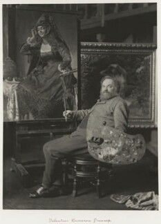 Valentine Cameron Prinsep, by Ralph Winwood Robinson, published by  C. Whittingham & Co - NPG x7387