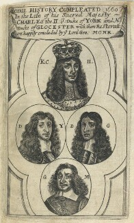 Royall History Compleated 1660, by Unknown artist, published circa 1660 - NPG D22745 - © National Portrait Gallery, London