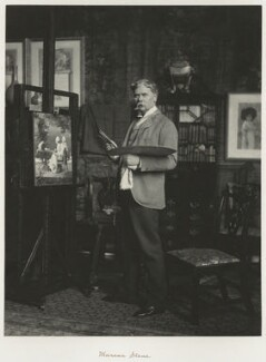 Marcus Clayton Stone, by Ralph Winwood Robinson, published by  C. Whittingham & Co, published 1892 - NPG x7393 - © National Portrait Gallery, London