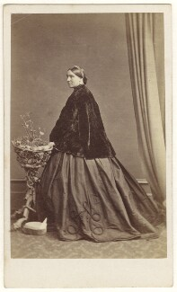 Constance Anna Walker (née Case, later Cornwall Legh), by Hills & Saunders - NPG Ax46433