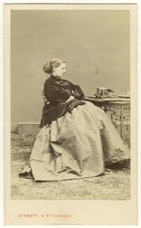 Mrs Falls, by Disdéri - NPG Ax46451