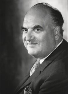 Arthur George Weidenfeld, Baron Weidenfeld, by Godfrey Argent - NPG x165886