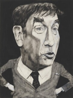 Frankie Howerd, by Barry Fantoni, 1978 - NPG  - © National Portrait Gallery, London