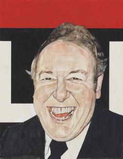 Sir Freddie Laker, by Barry Fantoni - NPG 6785