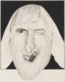 Jimmy Savile, by Barry Fantoni - NPG 6786