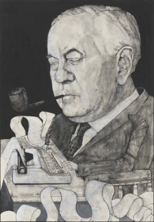 Harold Wilson, by Barry Fantoni - NPG 6788