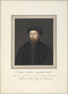 Sir John Baker, attributed to Thomas Athow, after  Unknown artist - NPG D23249