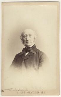 Sir John Ogilvy, 9th Bt, by James Valentine - NPG Ax46302