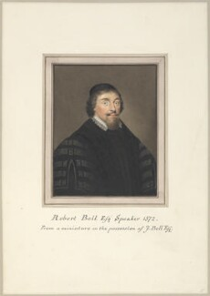 Sir Robert Bell, attributed to Thomas Athow, after  Unknown artist - NPG D23255