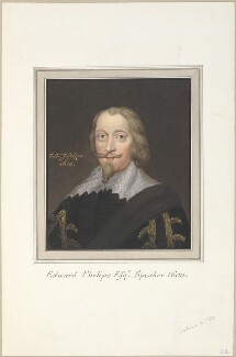 Sir Edward Phelips, attributed to Thomas Athow, after  Unknown artist - NPG D23258