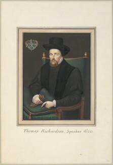 Sir Thomas Richardson, attributed to Thomas Athow, after  Unknown artist - NPG D23260