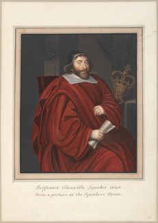 Sir John Glanville, attributed to Thomas Athow, after  Unknown artist - NPG D23264