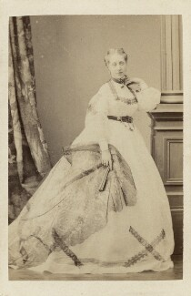 Miss King-Harman, by Unknown photographer - NPG Ax46403