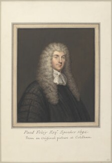 Paul Foley, attributed to Thomas Athow, after  Unknown artist - NPG D23274