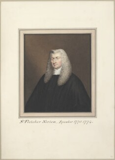 Fletcher Norton, 1st Baron Grantley, attributed to Thomas Athow, after  Unknown artist - NPG D23283