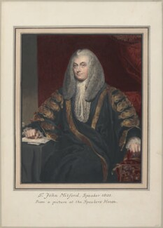 John Freeman-Mitford, 1st Baron Redesdale, attributed to Thomas Athow, after  Sir Thomas Lawrence - NPG D23287