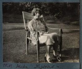 Alida Monro (née Klemantaski), by Lady Ottoline Morrell - NPG Ax143226