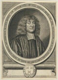 Joseph Glanvill (Glanville), by William Faithorne - NPG D22746