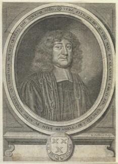 Joseph Glanvill (Glanville), by William Faithorne - NPG D22748