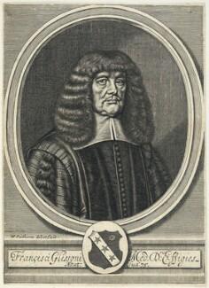 Francis Glisson, by William Faithorne - NPG D22749