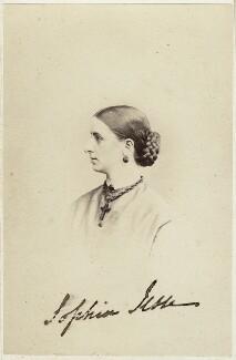 Sophia Jesse, by Frederick Spalding - NPG Ax46459
