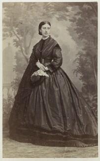 Cordelia Euphemia Mott (née Lockhart), by Fratelli D'Alessandri - NPG Ax46428