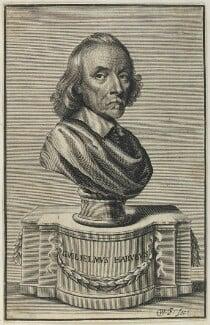 William Harvey, by William Faithorne, published 1653 - NPG D22767 - © National Portrait Gallery, London