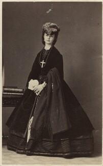 Duchess de Somaglia, by Disdéri - NPG Ax46345