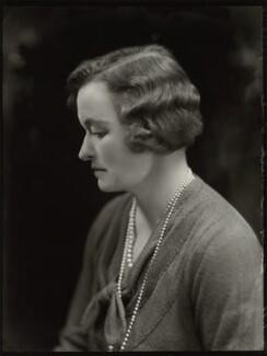 Enid Algerine Bagnold ('Lady Jones'), by Bassano Ltd, 2 January 1933 - NPG x150807 - © National Portrait Gallery, London