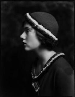 Lady Ann Child Elliot (née Villiers), by Bassano Ltd - NPG x150813