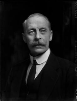 John Francis Granville Scrope Egerton, 4th Earl of Ellesmere, by Bassano Ltd - NPG x150834