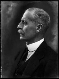 John Francis Granville Scrope Egerton, 4th Earl of Ellesmere, by Bassano Ltd - NPG x150836