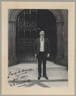 Hon. George Higginson Allsopp, by Benjamin Stone - NPG x8265