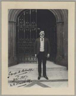 Hon. George Higginson Allsopp, by Sir (John) Benjamin Stone, November 1897 - NPG x8265 - © National Portrait Gallery, London