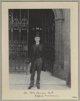 Sir William Reynell Anson, 3rd Bt, by Sir (John) Benjamin Stone, 1901 - NPG x8267 - © National Portrait Gallery, London
